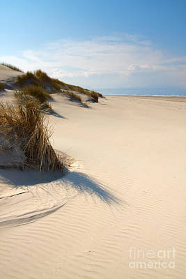Netherlands Photograph - Dunes Rippeled Sand. by Jan Brons