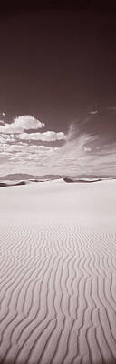 Dunes, White Sands, New Mexico, Usa Art Print by Panoramic Images