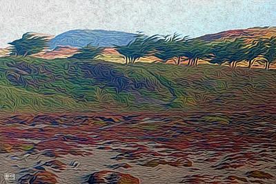 Digital Art - Dunescape by Jim Pavelle