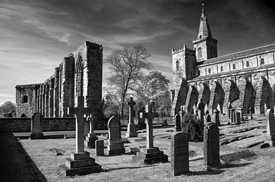 Photograph - Dunfermline Palace And Abbey by Ross G Strachan