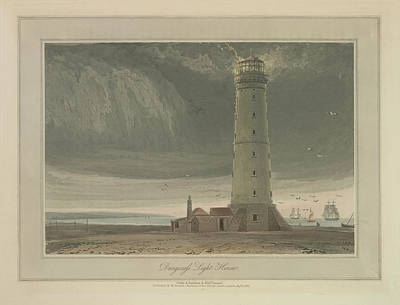 Dungeness Light House Art Print by British Library