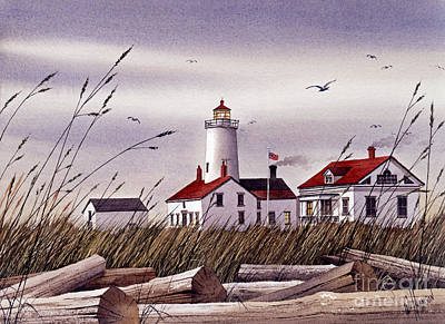 Dungeness Lighthouse Art Print by James Williamson