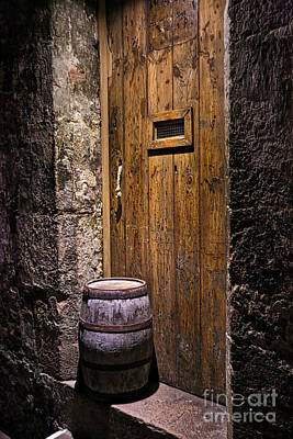 Photograph - Dungeon Door by Kate Purdy