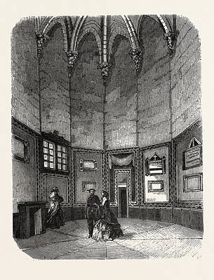 Vincennes Drawing - Dungeon Of Vincennes by Litz Collection