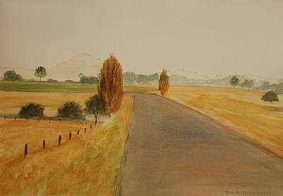 Painting - Dungog Area Nsw Australia by Tim Mullaney