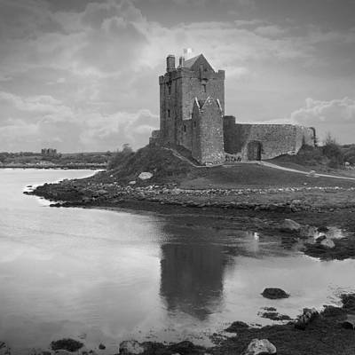 White River Digital Art - Dunguaire Castle - Ireland by Mike McGlothlen