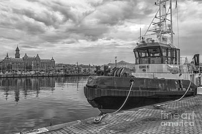 Dunker Tugboat Helsingborg Art Print