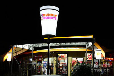 Dunkin Donuts Print by Paul Ward
