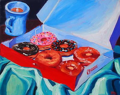Dunkin Donuts Art Print by Sean Boyce