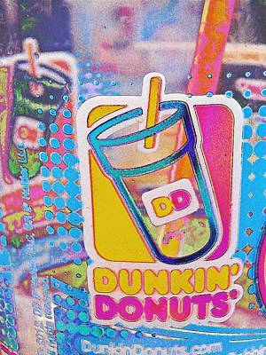 Photograph - Dunkin Ice Coffee 37 by Sarah Loft