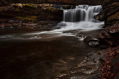 Thurmond Wall Art - Photograph - Dunloup Creek Falls by Shane Holsclaw