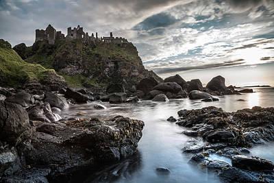 Photograph - Dunluce Castle 2 by George Pennock