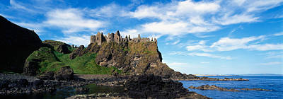 Craggy Photograph - Dunluce Castle, Antrim, Ireland by Panoramic Images