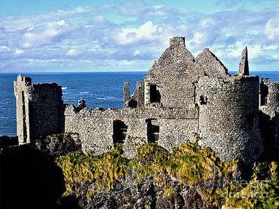 Photograph - Dunluce Castle by Nina Ficur Feenan