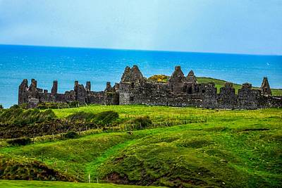Photograph - Dunluce Castle Ruins - Northern Ireland by Marilyn Burton