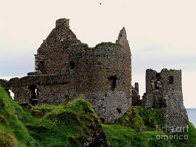 Photograph - Dunluce Castle- Stronghold Of The Macdonalds by Patricia Griffin Brett