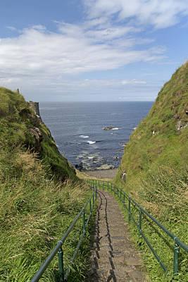 Dunluce Staircase Ireland Art Print