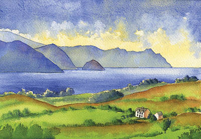 Painting - Dunmanus Bay by Kate Shannon