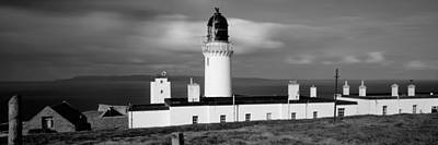 Dunnet Head Lighthouse At Easter Head Art Print by Panoramic Images