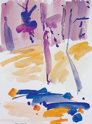 Priska Wettstein Pink Hues - Dunnfield-Creek-111413-12x9 by Arthur Kvarnstrom