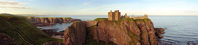 Fantasy Royalty-Free and Rights-Managed Images - Dunnottar Castle by Grant Glendinning