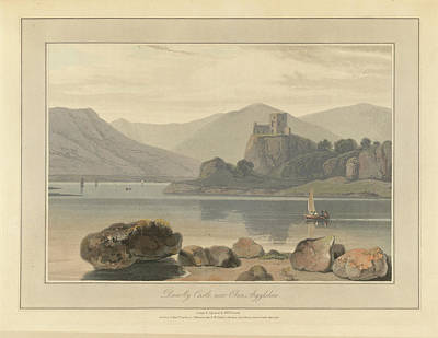 Dunolly Castle Near Oban Art Print