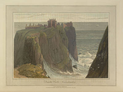 Dunotter Castle Art Print by British Library
