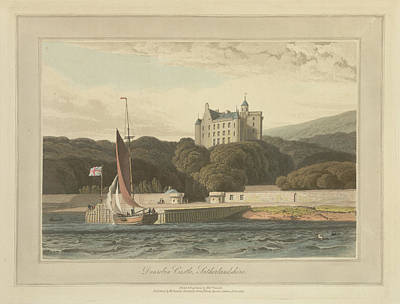Dunrobin Castle In Sutherland Art Print by British Library