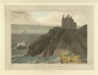 Dunsky Castle In Wigtonshire Art Print
