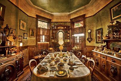 Mansion Digital Art - Dunsmuirs Dinning Room by Eti Reid