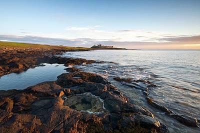 Photograph - Dunstaburgh Castle by Stephen Taylor