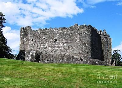 Scotland Photograph - Dunstaffnage Castle by Denise Railey