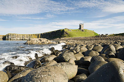 Dunstanburgh Castle From North Print by David Head