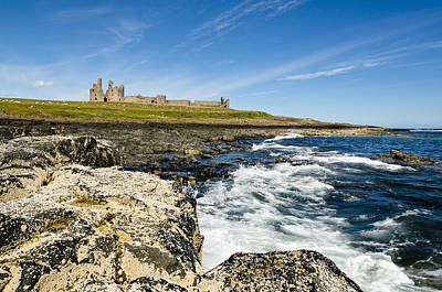 Dunstanburgh Castle From South Print by David Head