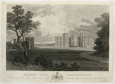 Sw Photograph - Dunster Castle by British Library
