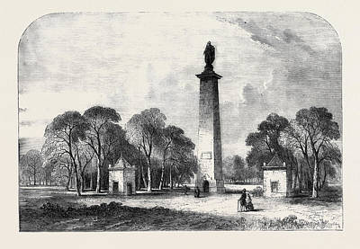 Lighthouse Drawing - Dunston Pillar Formerly Dashwoods Lighthouse Lincoln Heath by English School
