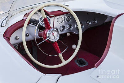 Photograph - Duntov 1954 Corvette Interior by Dennis Hedberg