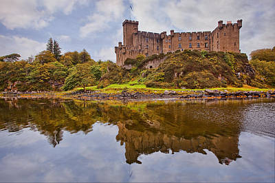 Isle Of Skye Photograph - Dunvegan Castle by Marcia Colelli