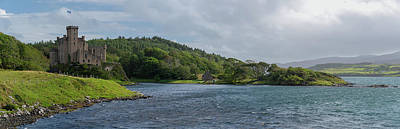 Photograph - Dunvegan Castle Panorama by Peter Luxem