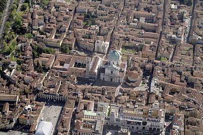 Old Photograph - Duomo Di Brescia by Blom ASA