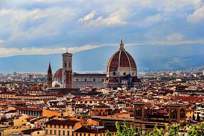 Photograph - Duomo Di Firenze by Oscar Alvarez Jr