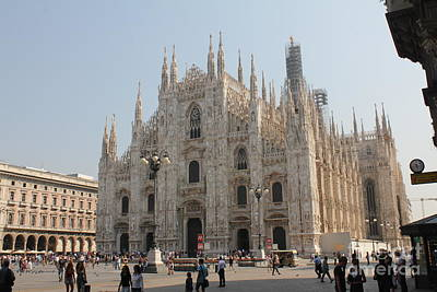 Photograph - Duomo Di Milano by David Grant