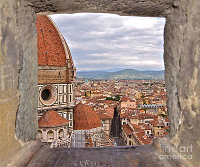 Duomo From Campanile Tower Art Print