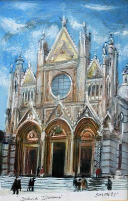Duomo Sienna Art Print by Tom Smith