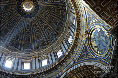 Photograph - Duomo St Peters 2 by Bob Christopher