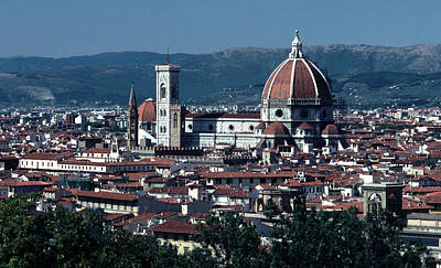 Basilica With Dome Photograph - Duomo  by Tom Wurl