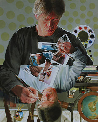 Artist Self Portrait Painting - Duplicated2 by Denny Bond