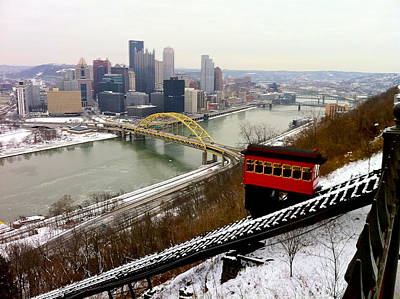 Photograph - Duquesne Incline by Denise Mazzocco