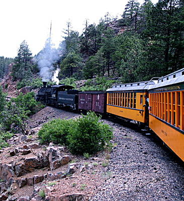 Photograph - Durango And Silverton Narrow Gauge Railroad by Kume Bryant