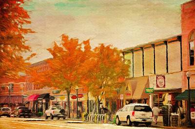 Fall Painting - Durango Autumn by Jeff Kolker